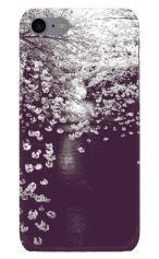 iPhone7対応のツヤ有りケース、桜ノスタルジック