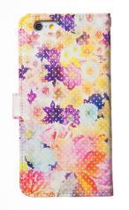 iPhone7対応の手帳型ケース、Flower Bless