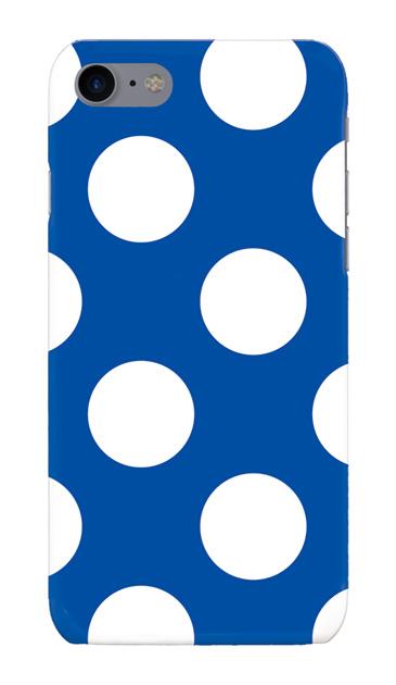 iPhone8のハードケース、Largeドット【スマホケース】