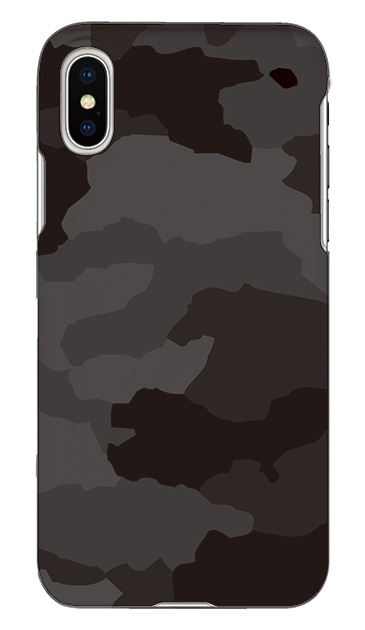 iPhoneXのケース、Medium 迷彩【スマホケース】