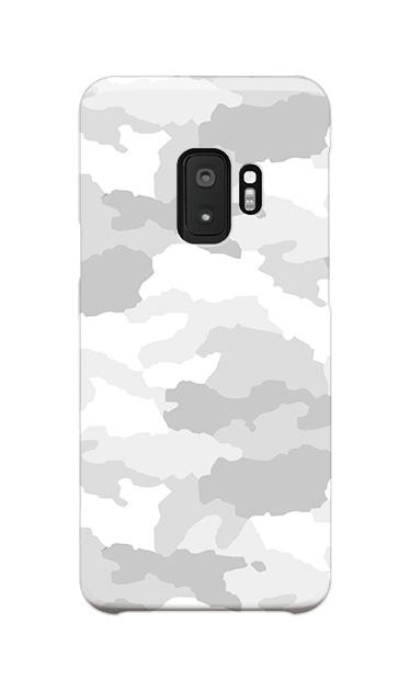 Galaxy S9のケース、シンプル迷彩【スマホケース】