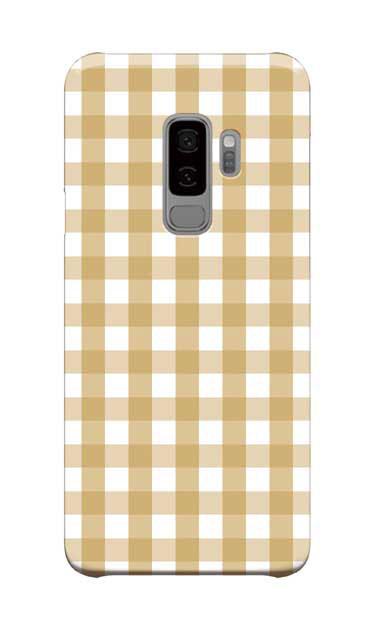Galaxy S9+のケース、Gingham Check Medium【スマホケース】