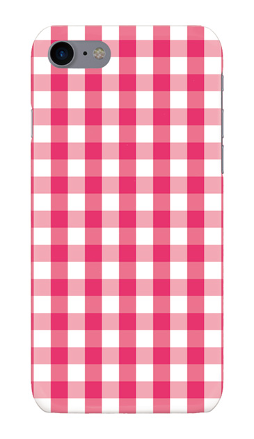 iPhone8のハードケース、Gingham Check Medium