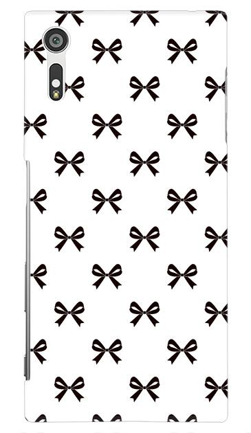 Xperia XZのケース、Medium リボン【スマホケース】