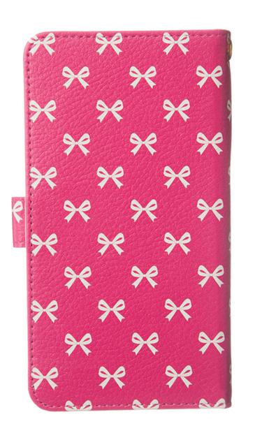 iPhoneXSのケース、Medium リボン【スマホケース】