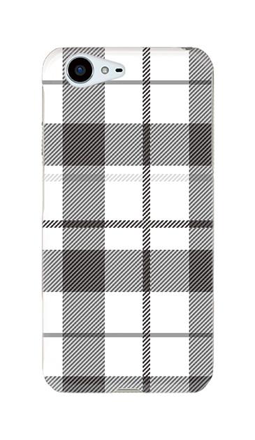 AQUOS ZETAのハードケース、Large カントリータータンチェック【スマホケース】