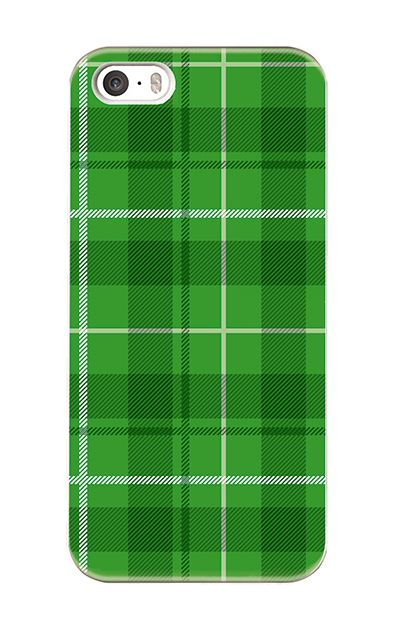 iPhoneSEのケース、Medium カントリータータンチェック【スマホケース】