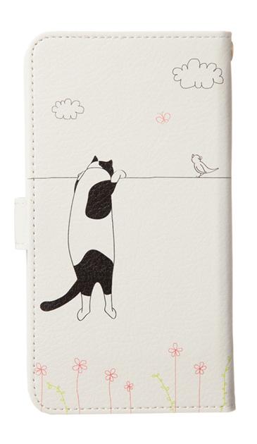 Galaxy S9+のケース、もっと覗く三毛ねこ【スマホケース】