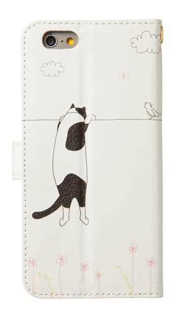 iPhone7のケース、もっと覗く三毛猫の休日