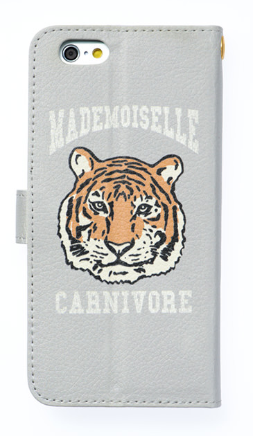 iPhoneSEのケース、マドモアゼルタイガー【スマホケース】