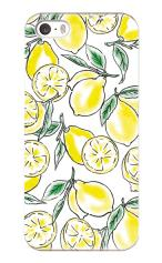 iPhone5対応のツヤ有りケース、檸檬の想い出