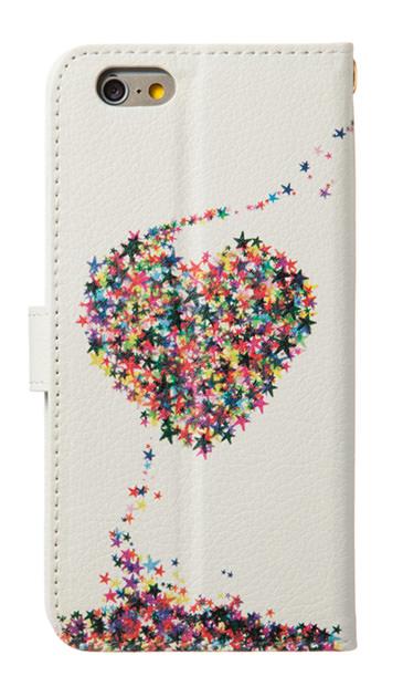 iPhoneSEのケース、星屑LOVE!