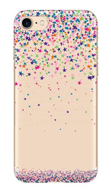 iPhone7のクリア(透明)ケース、Millionスター【スマホケース】