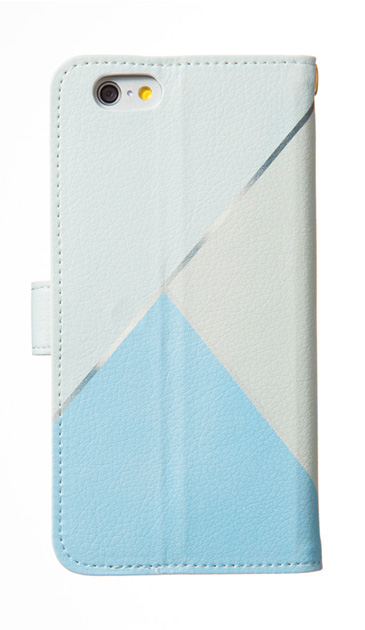 iPhoneSEの手帳型ケース、シャドウパレット【スマホケース】