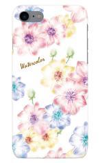 iPhone7対応のツヤ有りケース、Aroma Flower