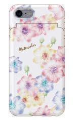 iPhone7対応のミラーつきケース、Aroma Flower
