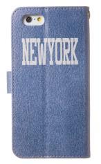 iPhone7対応の手帳型ケース、New York土産
