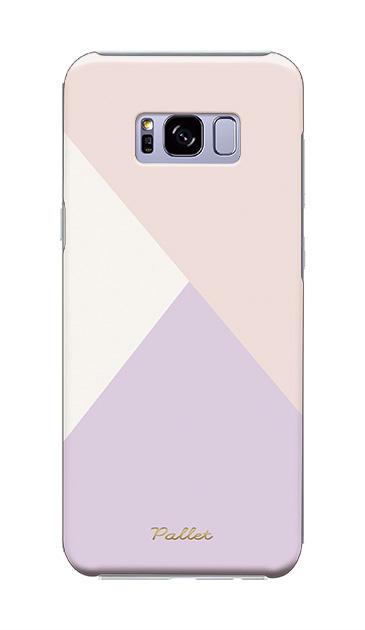 Galaxy S8+のケース、新色・シャドウパレット【スマホケース】