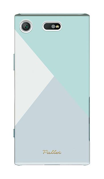 Xperia XZ1 Compactのケース、新色・シャドウパレット【スマホケース】