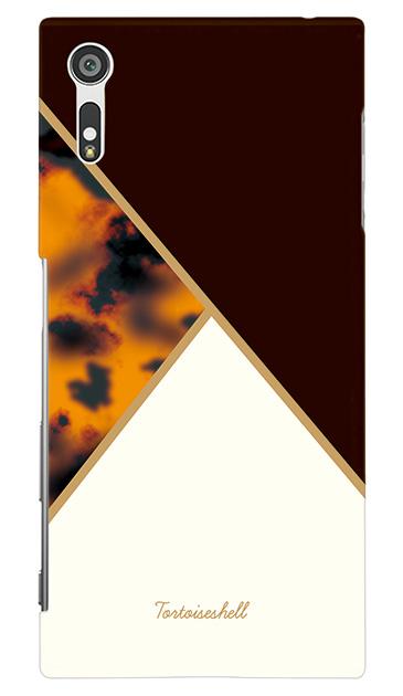 Xperia XZのケース、シックパレット【スマホケース】