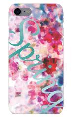 iPhone7対応のツヤ有りケース、Elegant Spring
