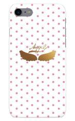 iPhone7対応のツヤ有りケース、my ANGEL
