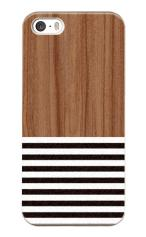 iPhone5対応のマットケース、Wood Blind