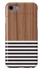 iPhone7対応のミラーつきケース、Wood Blind