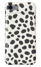 iPhone7対応のミラーつきケース、ダルメシアンPattern