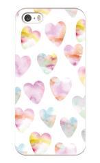 iPhone5対応のツヤ有りケース、恋する夢の数