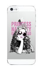 iPhone5c対応のクリアケース、Princess Naughty