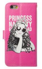 iPhone7対応の手帳型ケース、Princess Naughty