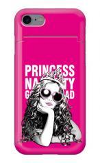 iPhone7対応のミラーつきケース、Princess Naughty