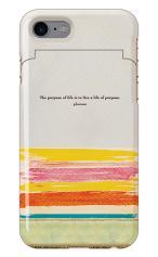 iPhone7対応のミラーつきケース、shabby canvas