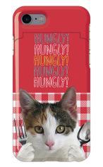 iPhone7対応のミラーつきケース、HUNGRY CAT