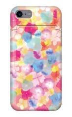 iPhone7対応のミラーつきケース、Sweet Flowers