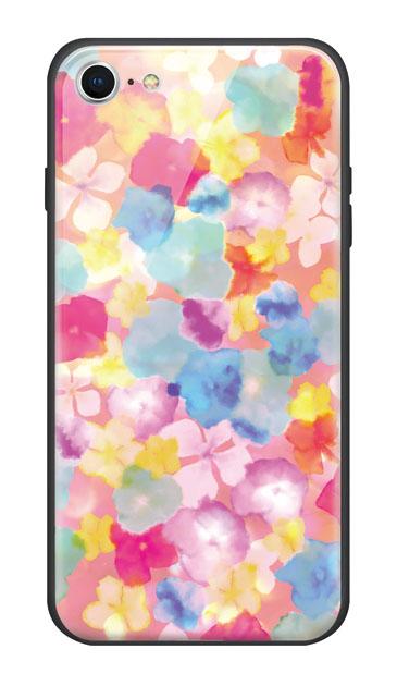 iPhone7のケース、Sweetフラワー【スマホケース】
