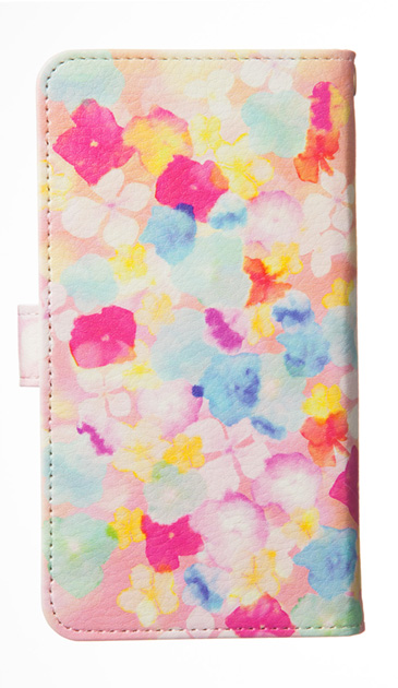Xperia XZのケース、Sweet Flowers