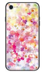 iPhone7対応のハードケース・ツヤ有り、木漏れ日フラワー【スマホケース】