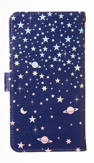 Galaxy S7 edgeのケース、ミラクル宇宙【スマホケース】
