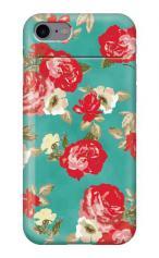 iPhone7対応のミラーつきケース、RED ROSE