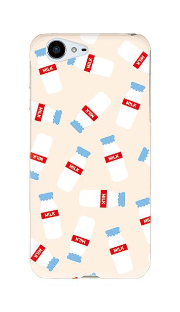 AQUOS ZETAのケース、おいしいミルク【スマホケース】