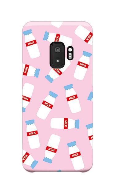 Galaxy S9のケース、おいしいミルク【スマホケース】