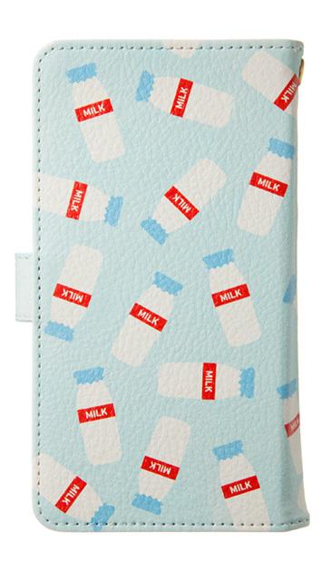Xperia Z5の手帳型ケース、おいしいミルク【スマホケース】