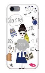iPhone7対応のミラーつきケース、Fashionista