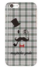 mustache smile