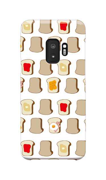 Galaxy S9のケース、いろいろな食パン【スマホケース】