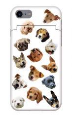 iPhone7対応のミラーつきケース、Dog Meeting