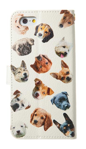 iPhoneSEのケース、Meeting犬【スマホケース】