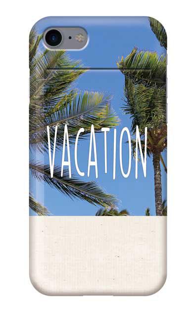 iPhone7のミラー付きケース、「VACATION」【スマホケース】